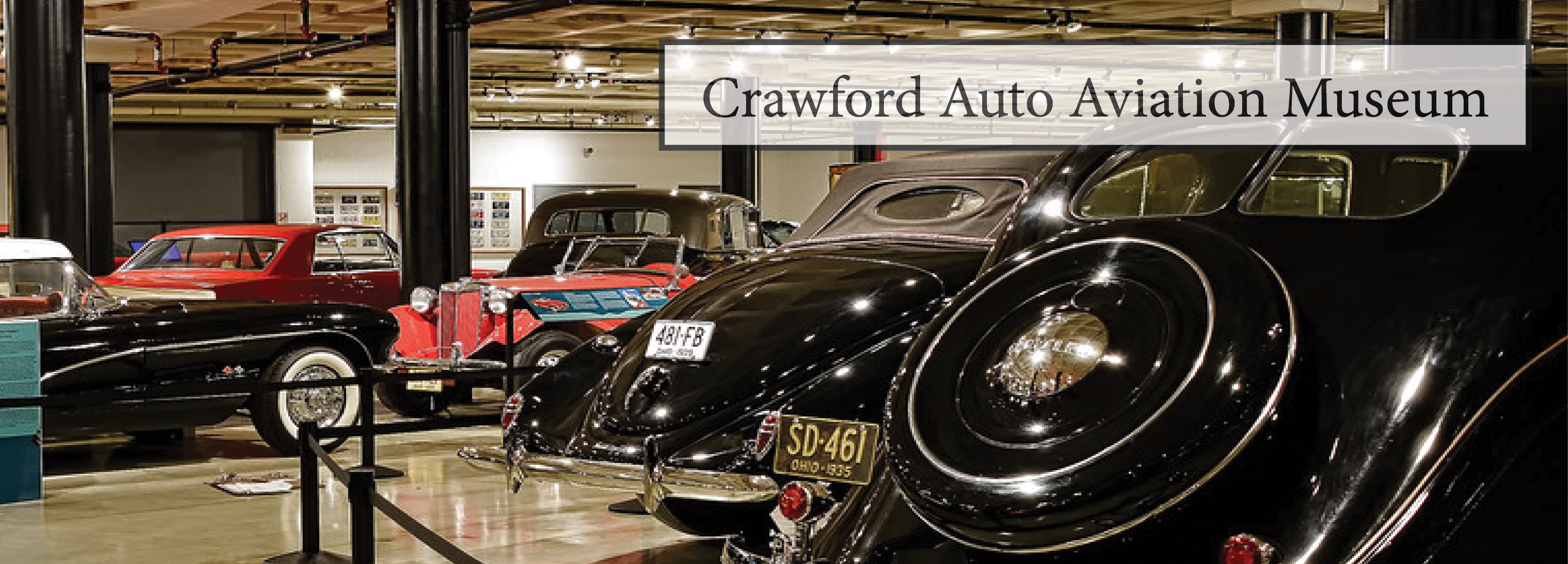 Crawford Auto Aviation Collection Western Reserve Historical Society - Classic car museums in usa
