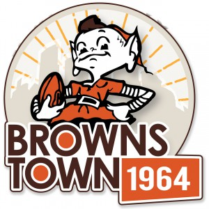 Browns Town Button