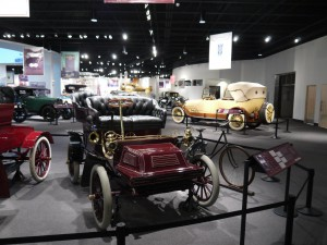 Over 50 vehicles are on display in Setting the World in Motion, all of which were manufactured in Cleveland.