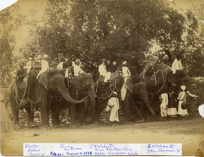 Wades On Elephants