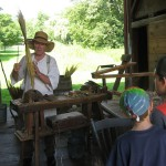 Broom Making at Hale Farm & Village