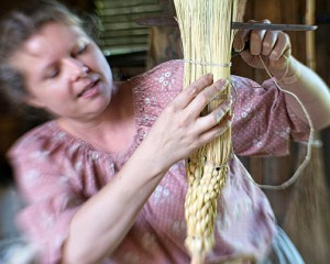 Hale Farm & Village Broom Workshop