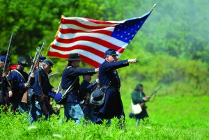 Civil War Reenactment 2016 at Hale Farm & Village