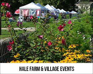 Hale Farm & Village Events