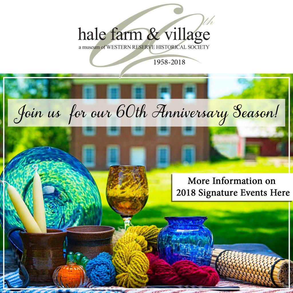 Hale Farm & Village 60th Events