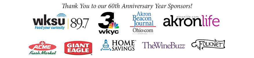 60th Anniversary Sponsors