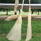 Handcrafted at Hale Brooms