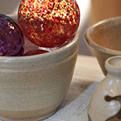 Handcrafted at Hale Pottery