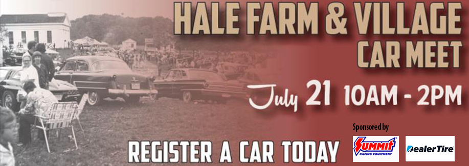 Hale Farm & Village Car Meet