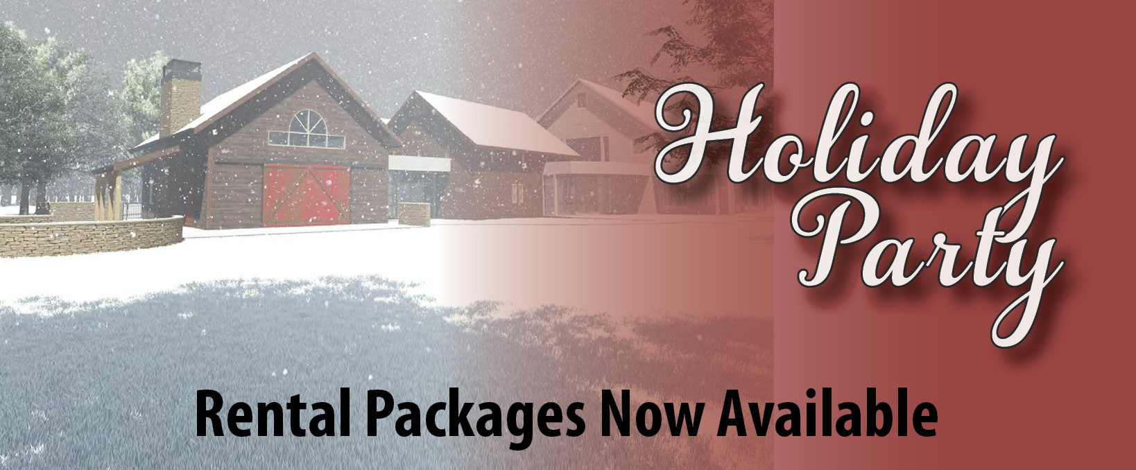 Holiday Party Rental packages