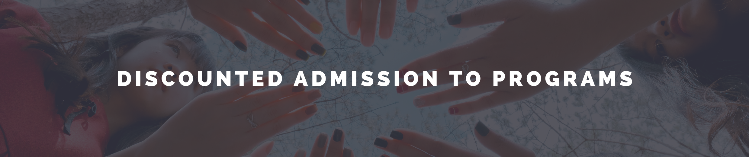 discounted admission