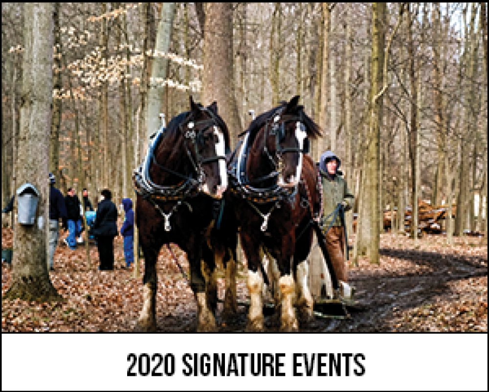 Hale Farm & Village 2020 Signature Events