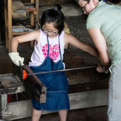 Hale Farm & Village Glassblowing Workshop for Youth