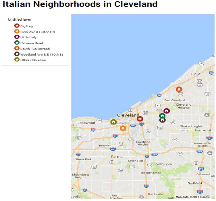 CLE Ital Neighborhoods Map