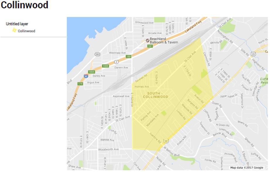 Collinwood Map[1]