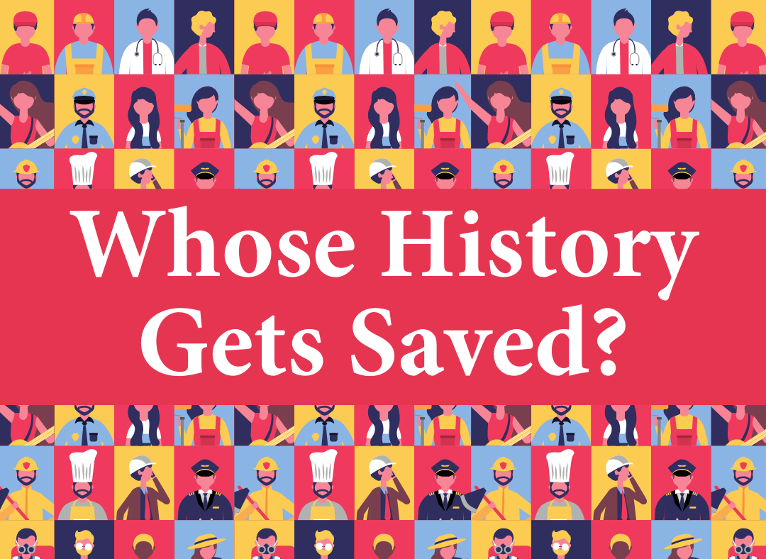 whose history gets saved graphic